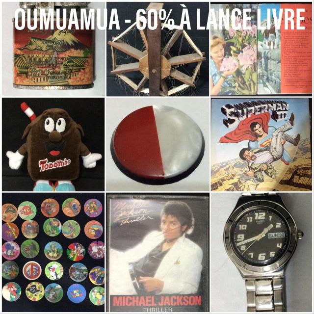 OUMUAMUA - 60% À LANCE LIVRE
