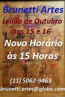 BRUNETTI LEILÃO DE ARTES