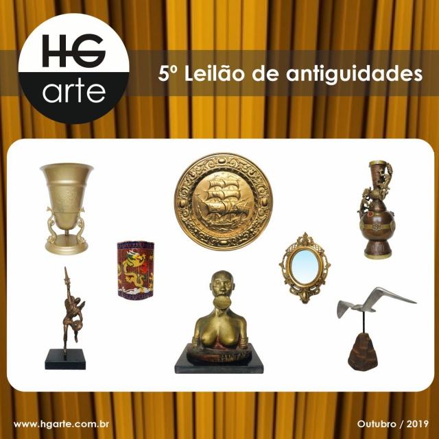 HG ARTE - 5º LEILÃO DE ARTE E ANTIGUIDADES