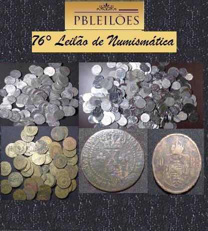 76º Leilão de Numismática Pbleilões