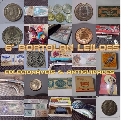 6º LEILÃO BORTOLAN DE COLECIONÁVEIS E ANTIGUIDADES