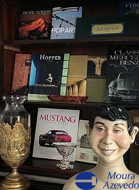 Leilão Livros, Curiosidades, Relógios e Antiguidades