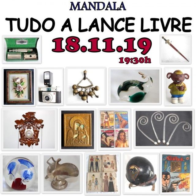 LEILÃO MANDALA - TUDO A LANCE LIVRE
