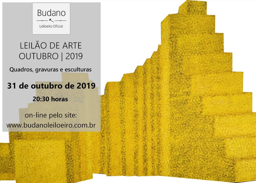 LEILÃO DE ARTE - OUTUBRO 2019