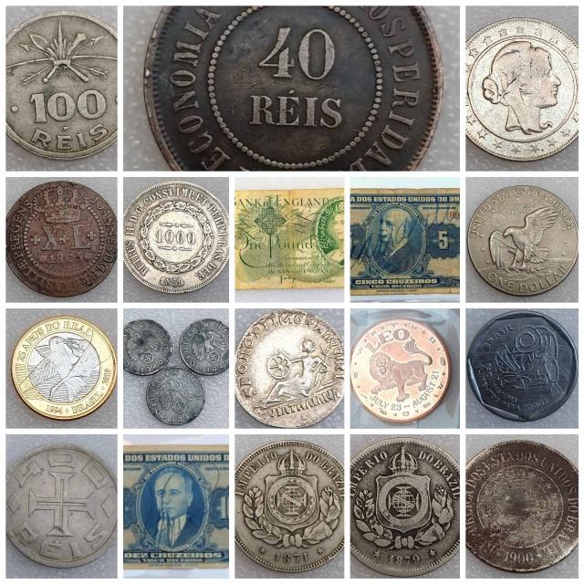 LEILÃO  Numismart - Cédulas, Moedas, Medalhas entre outras