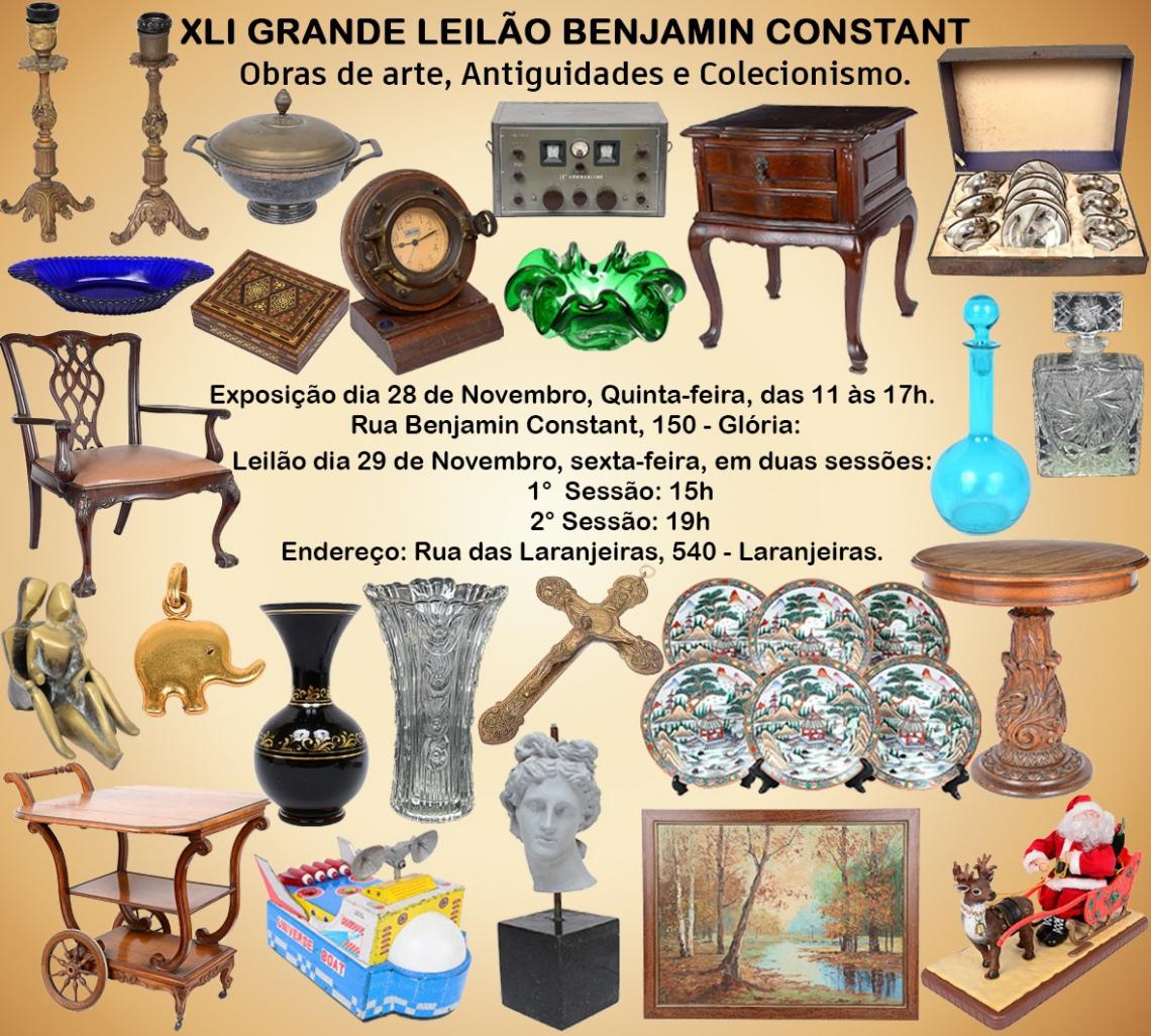XLI GRANDE LEILÃO BENJAMIN CONSTANT
