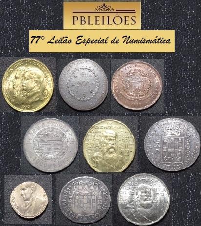 77º Leilão Especial de Numismática Pbleilões