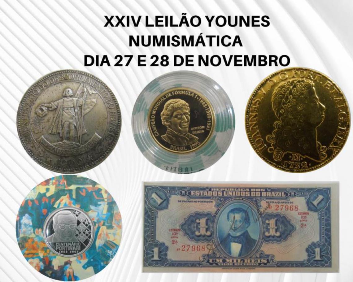XXIV LEILÃO YOUNES NUMISMÁTICA