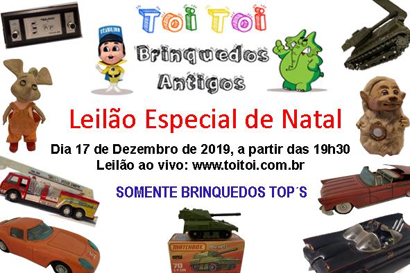 LEILÃO TOITOI DE BRINQUEDOS ANTIGOS