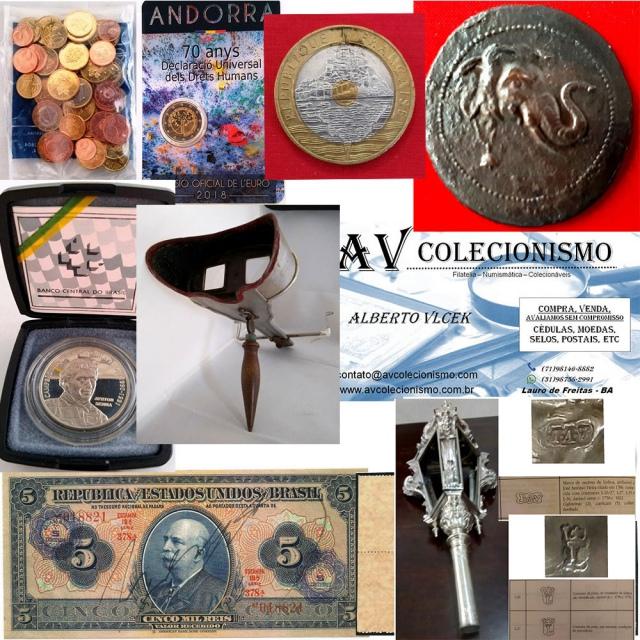 23º Leilão de Filatelia - Numismática - Colecionáveis