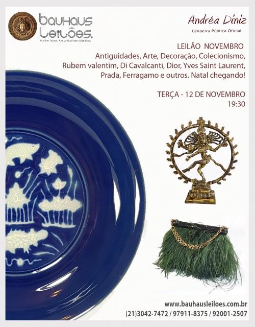 LEILÃO BAUHAUS NOVEMBRO - Antiguidades, Arte, Decoração, Colecionismo -  Natal chegando!