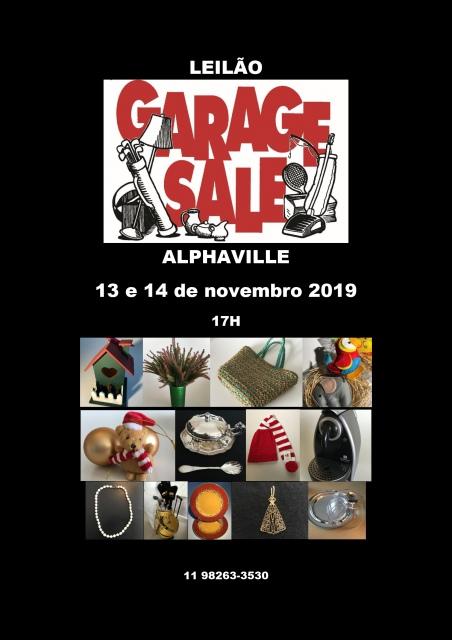 LEILÃO - GARAGE SALE ALPHAVILLE