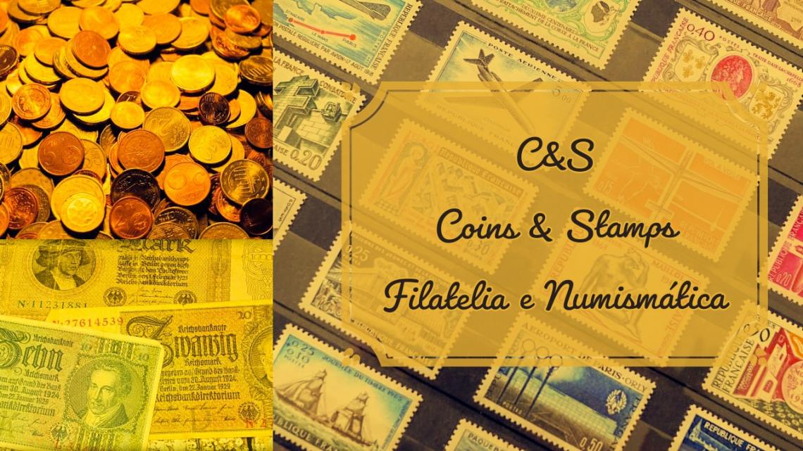 4º LEILÃO COINS E STAMPS - SELOS, MOEDAS E CÉDULAS PARA SUA COLEÇÃO!!!
