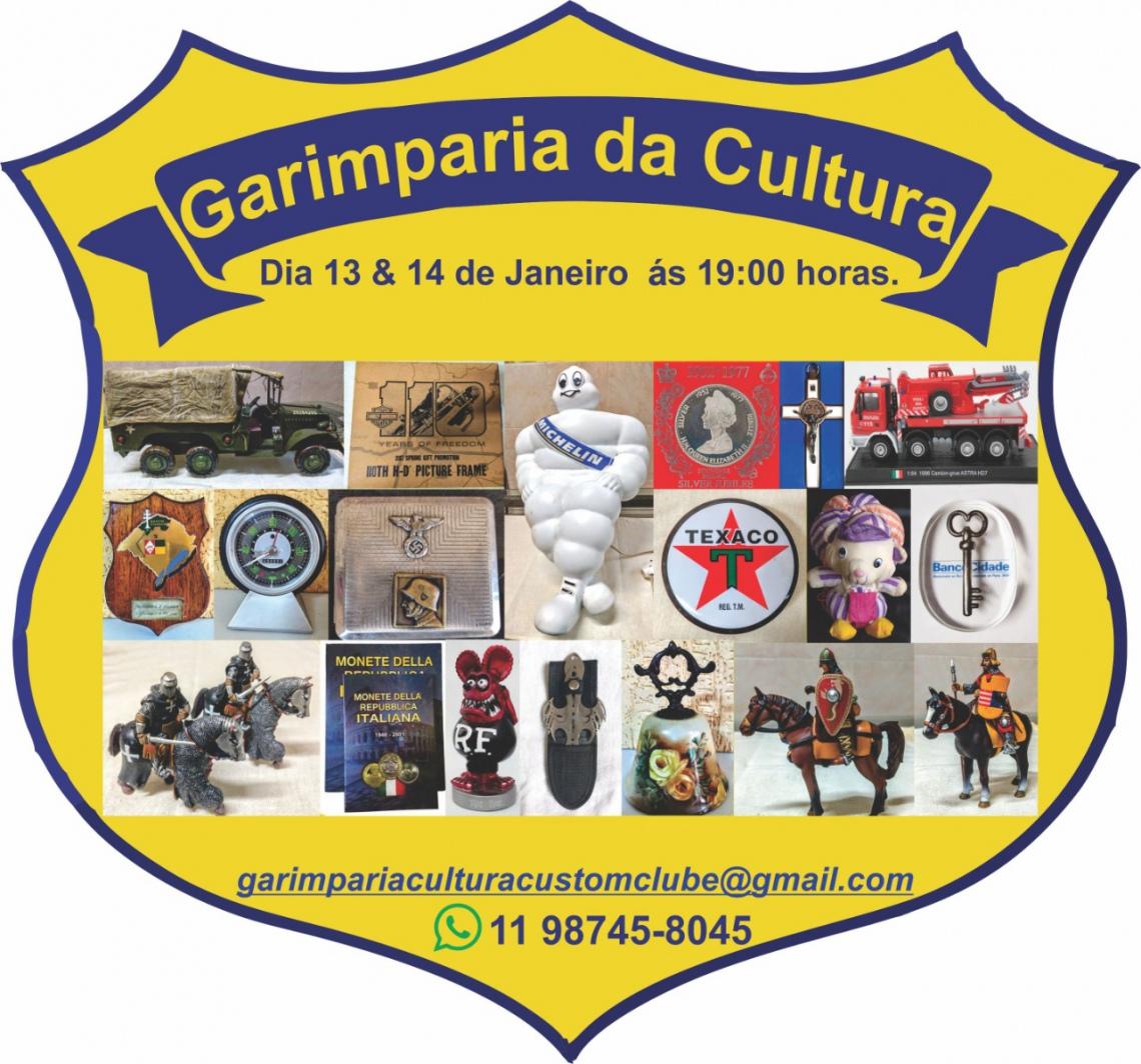 LEILÃO GIRO DO GARIMPO / colecionismo, militaria, brinquedos e muito mais...