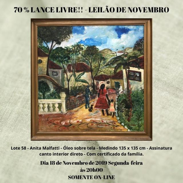 70 % LANCE LIVRE!! - LEILÃO DE NOVEMBRO