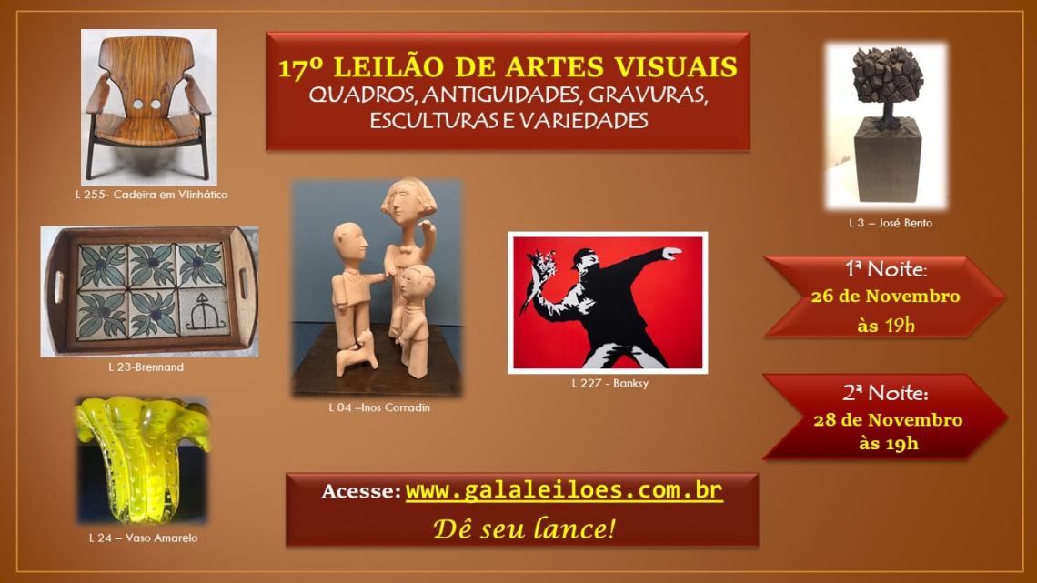 17º LEILÃO DE ARTES VISUAIS