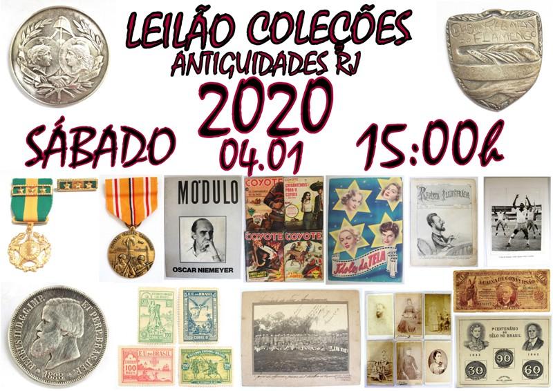 LEILÃO ANTIGUIDADES RJ LXXX