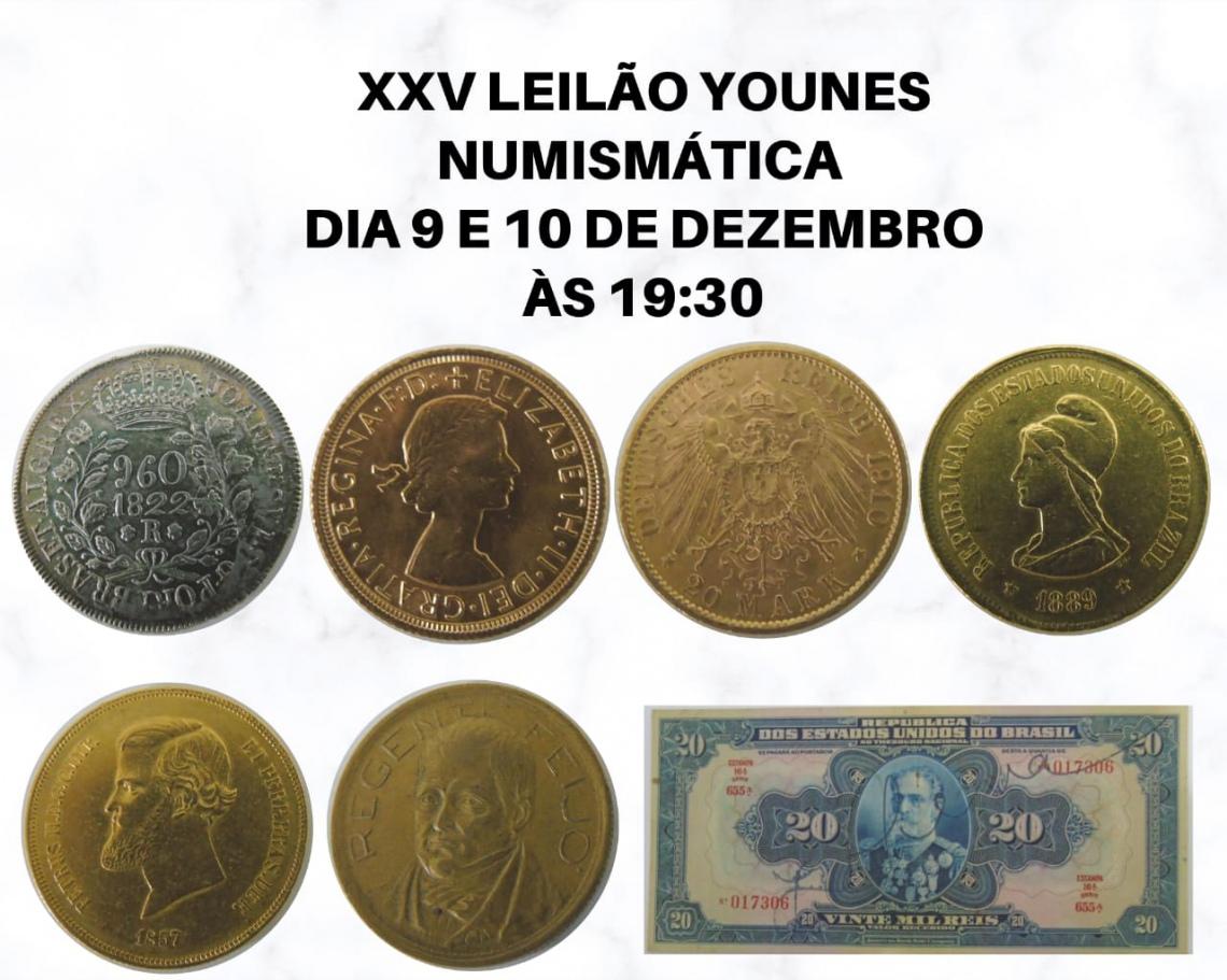 XXV LEILÃO YOUNES NUMISMÁTICA