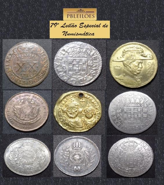 79º Leilão Especial de Numismática Pbleilões