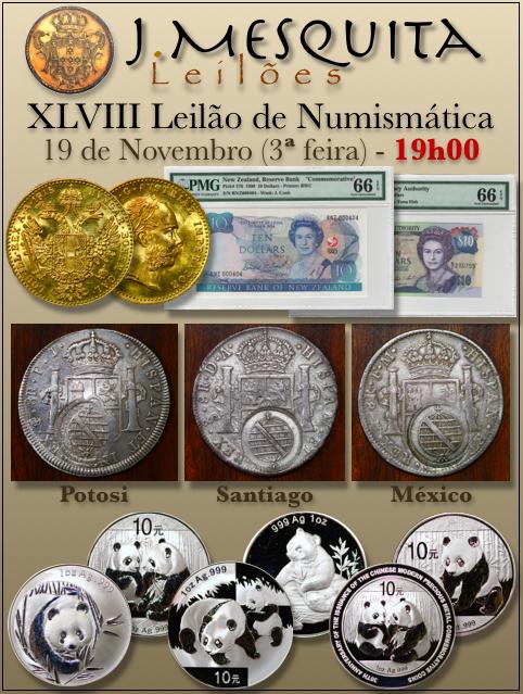 XLVIII Leilão J.Mesquita - Especial de Numismática