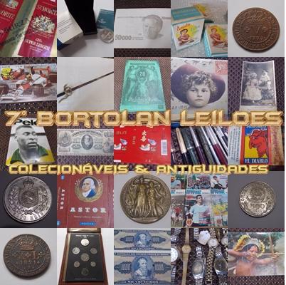 7º LEILÃO BORTOLAN DE COLECIONÁVEIS E ANTIGUIDADES