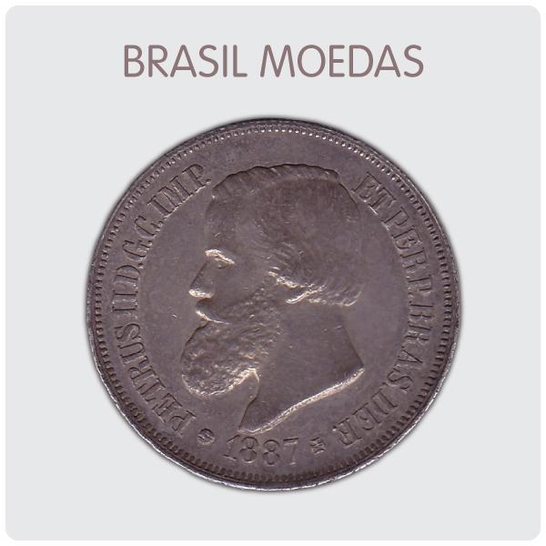 LEILÃO BRASIL MOEDAS NUMISMÁTICA - 2/12/2019 às 16h00