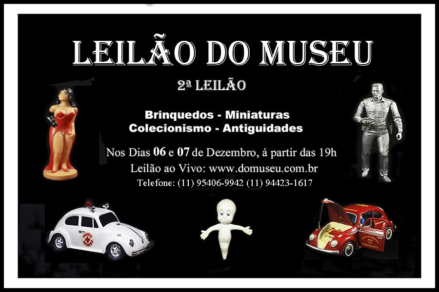 LEILÃO DO MUSEU