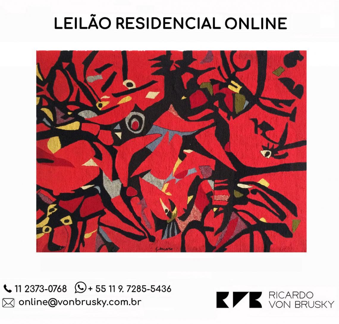 Leilão Residencial Online | Coleção Giampaolo Maffei, Lisette Mathias Maffei e Outros
