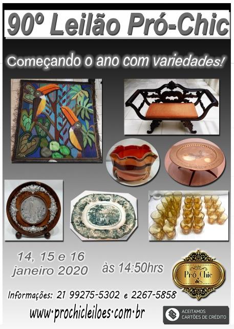 90 LEILÃO - Pro Chic - Começando o ano com variedades!