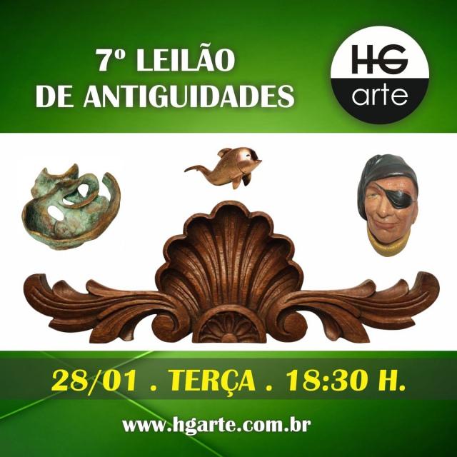 HG ARTE - 6º LEILÃO DE ARTE E ANTIGUIDADES