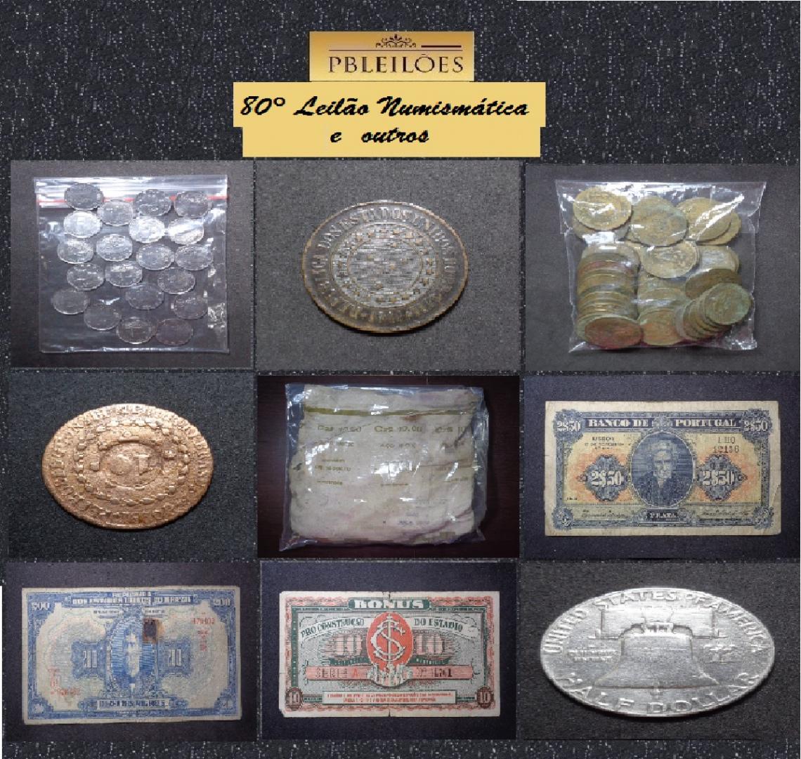 80º Leilão de Numismática e outros