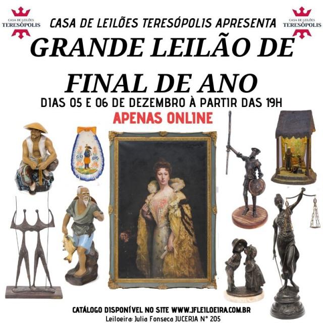 GRANDE LEILÃO DE FINAL DE ANO - CASA DE LEILÕES TERESÓPOLIS