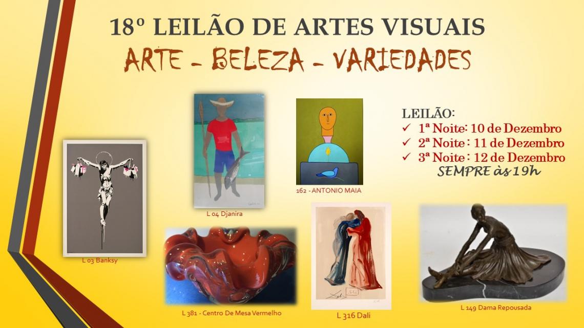 18º LEILÃO DE ARTES VISUAIS