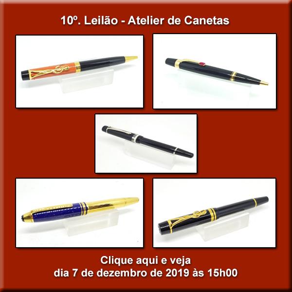 10º. Leilão Atelier de Canetas - 07/12/2019 - 15h00