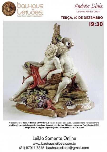 LEILÃO DEZEMBRO - BAUHAUS LEILÕES AUCTION HOUSE - Arte, Antiguidades, Decoração, Curiosidades