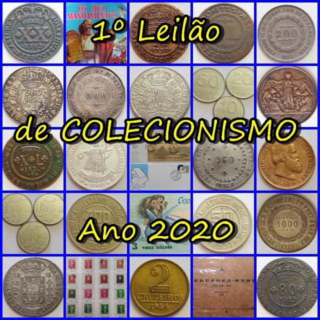 1º LEILÃO JOTAERRE DE COLECIONISMO DE 2020
