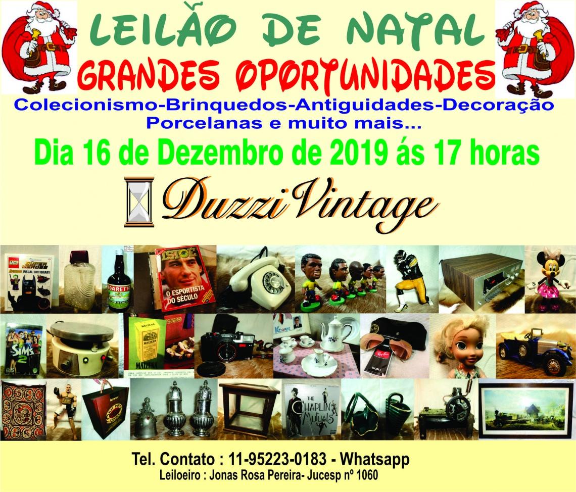 LEILÃO DE NATAL 2019 - DuzziVintage - Grandes Oportunidades