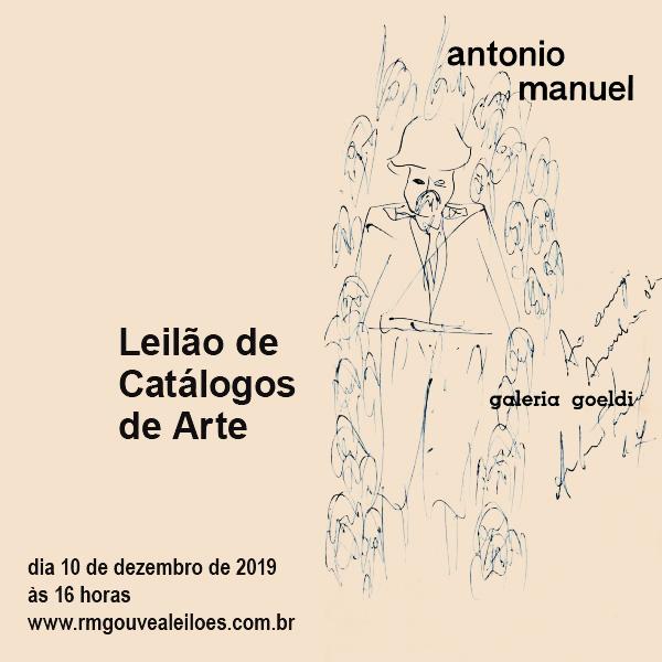 LEILÃO DE CATÁLOGOS DE ARTE - 10/12/2019 às 16h00