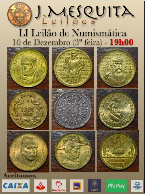 LI Leilão J.Mesquita - Especial de Numismática