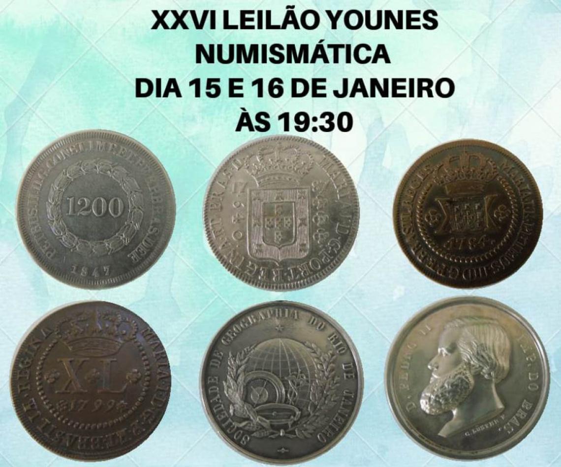 XXVI LEILÃO YOUNES NUMISMÁTICA