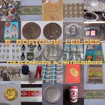 8º LEILÃO BORTOLAN DE COLECIONÁVEIS E ANTIGUIDADES