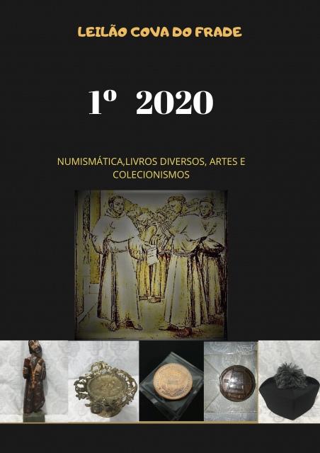 LEILÃO COVA DO FRADE-NUMISMÁTICA, LIVROS DIVERSOS, ARTE E COLECIONISMO