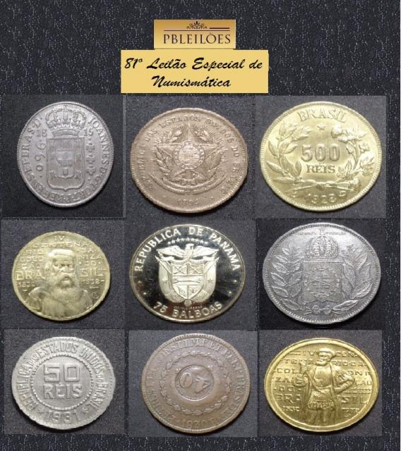 81º Leilão Especial de Numismática Pbleilões