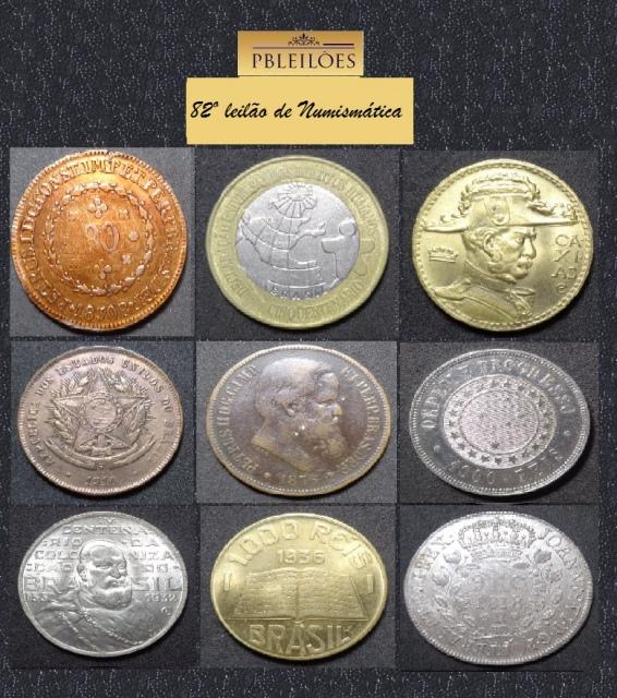 82º Leilão de Numismática Pbleilões