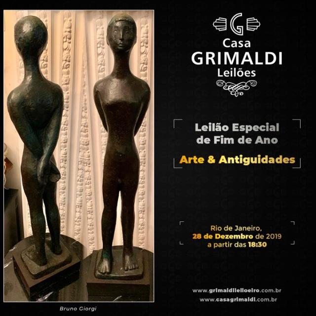 LEILÃO ESPECIAL DE FIM DE ANO - CASA GRIMALDI - ARTE & ANTIGUIDADES