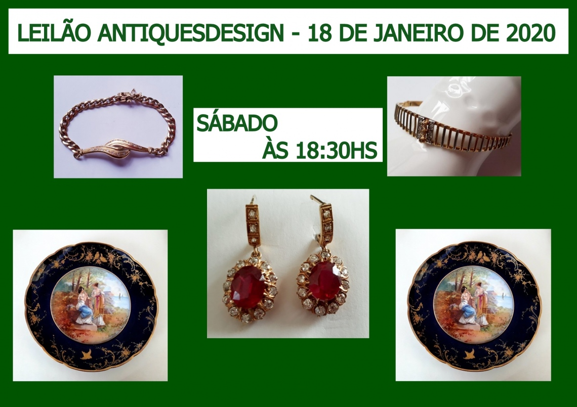LEILÃO ANTIQUESDESIGN
