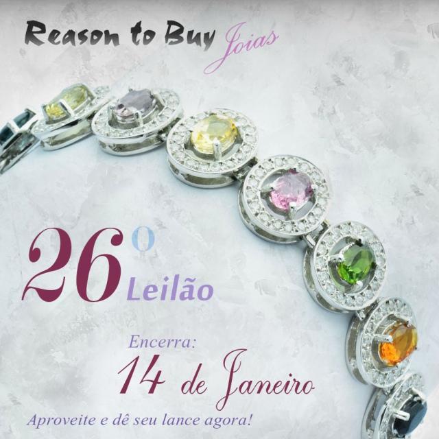LEILÃO 13809 - 26º Leilão de Joias da Reason to Buy Joalheria