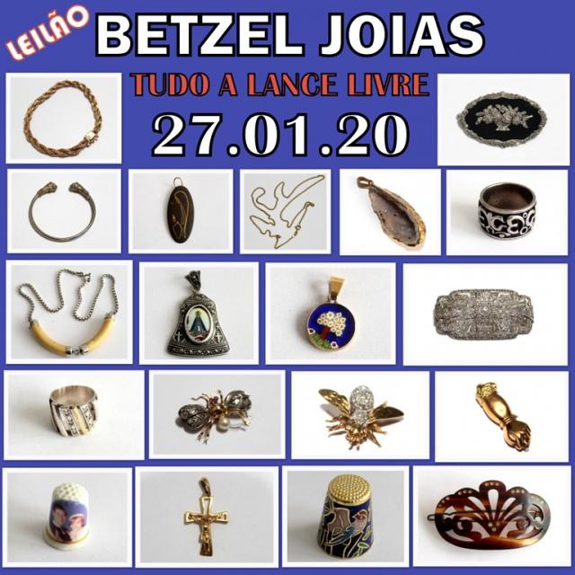 LEILÃO BETZEL JOIAS - TUDO A LANCE LIVRE