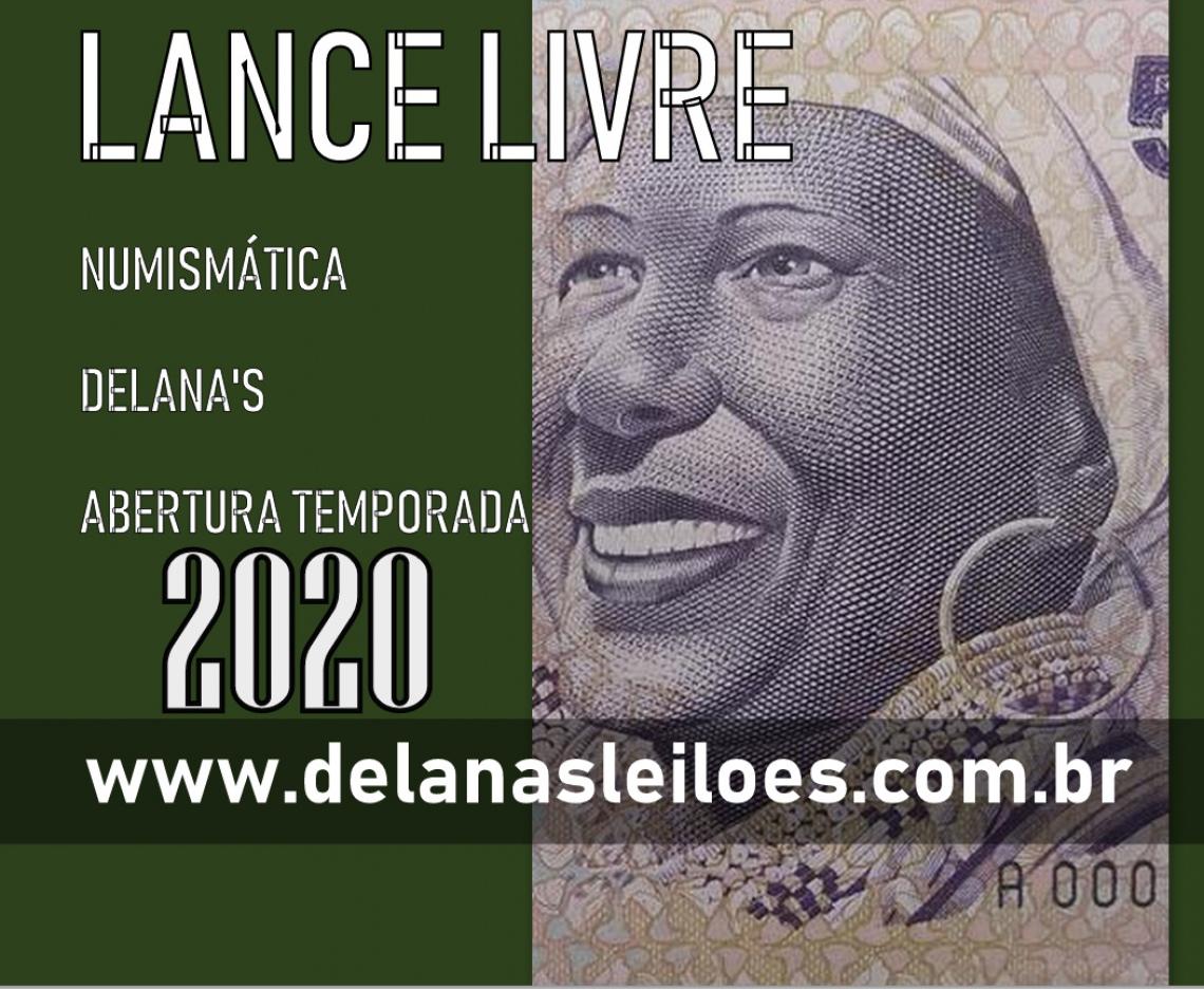 NUMISMÁTICA LANCE LIVRE - ABERTURA TEMPORADA 2020