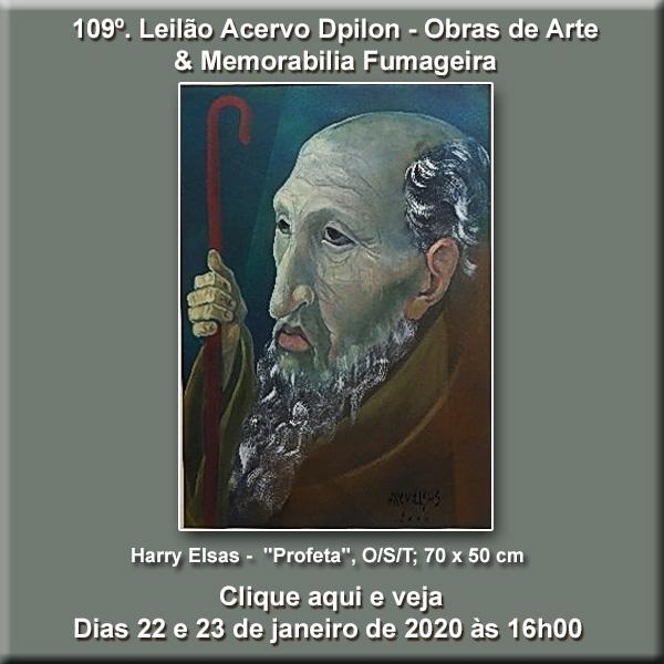109º Leilão Acervo DPilon - Obras de Arte e Memorabilia Fumageira - 22 e 23/01/2020 - 16h00